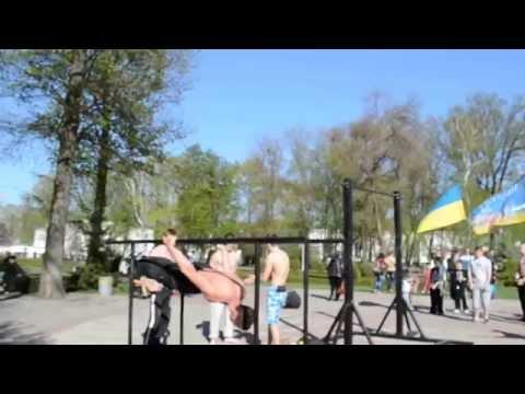 Пробіжка 26 квітня. Воркаут в Корпусному парку. Атлети Полтави