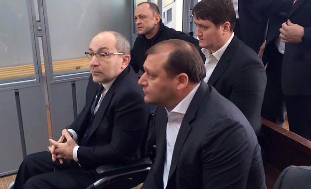 Михаил Добкин рядом с Геннадием Кернесом | Фото: Valeriy Shergin