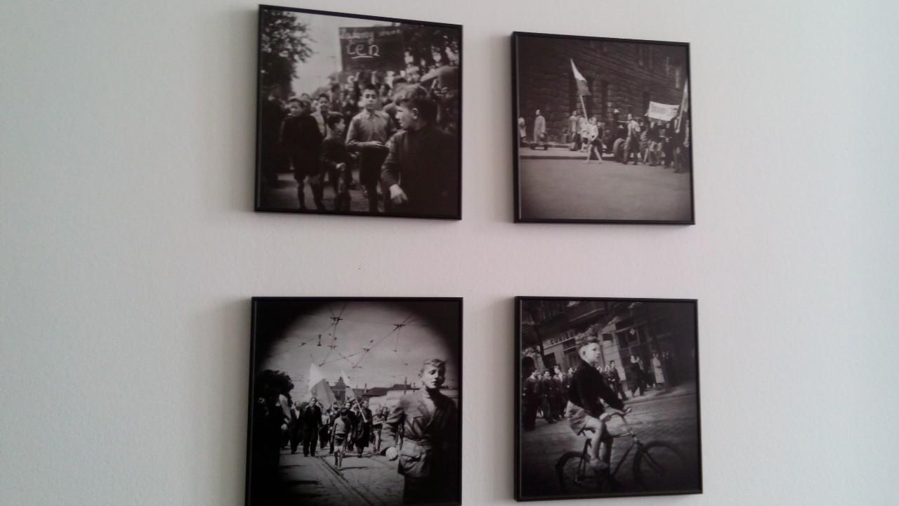 Фото секретного агента під час робітничих протестів у Познані в 1956 році