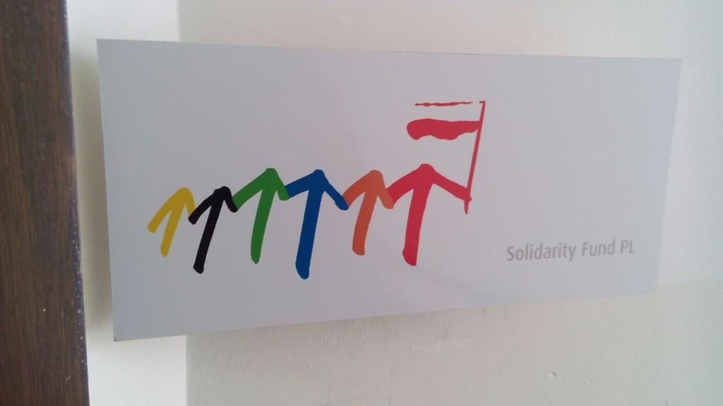 Лого «Fundacja Solidarności Międzynarodowej»