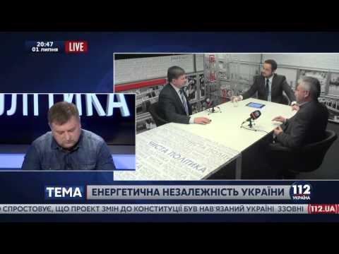 """Канал """"Україна 112""""  програма """"Чиста політика"""""""