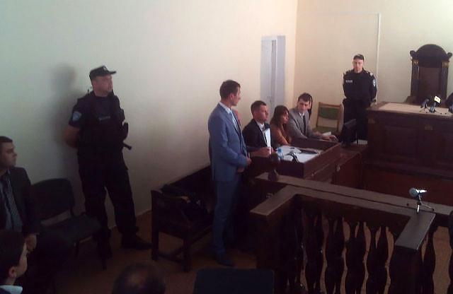 Выступает прокурор Ганилов