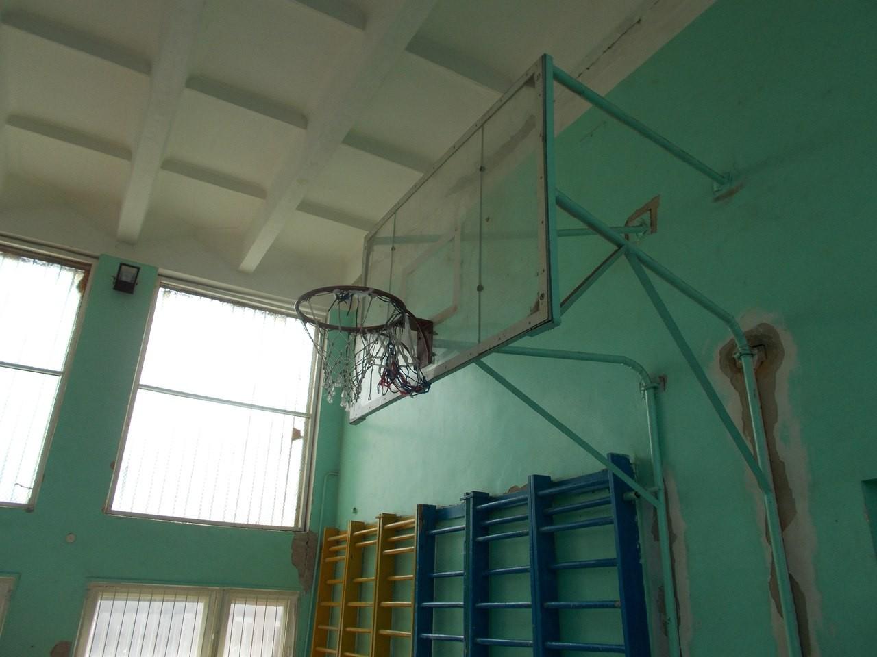 Спортивний зал Шишацької спеціалізованої школи ім. Вернадського