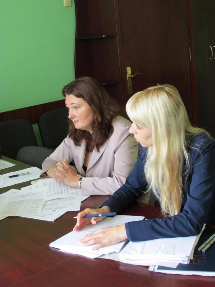 Світлана Сердюк – ліворуч.
