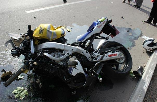 ДТП у Комсомольську: після зіткнення з авто довелося прибирати мізки  пасажира мотоцикла / Полтавщина
