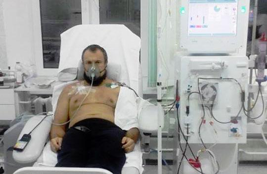 Валерий Марченко в Полтавской областной клинической больнице