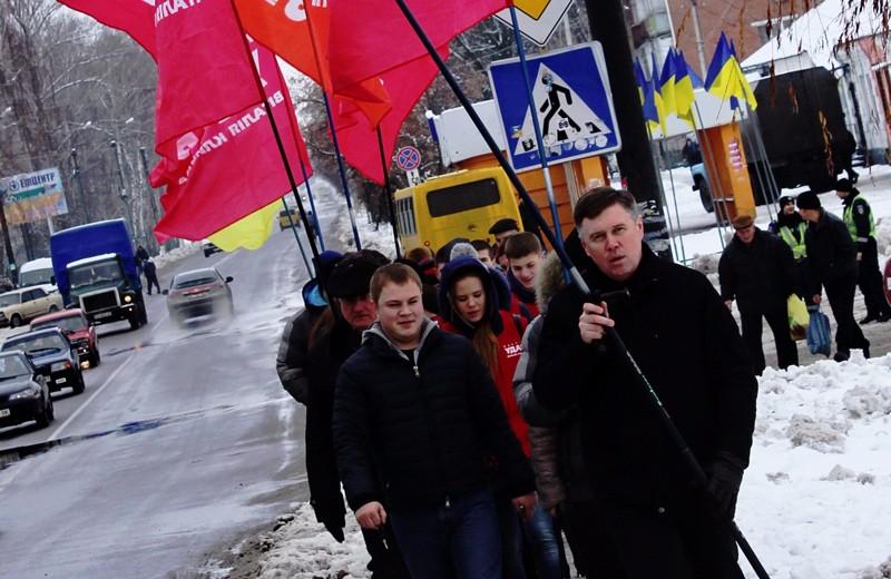 Слева — Евгений Руденко, заместитель председателя Миргородской городской организации партии «УДАР»