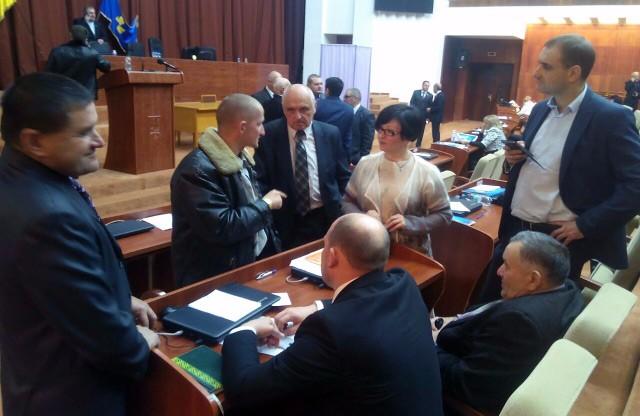 Олександр Масюк «консультує» депутатів облради та нардепа Сергія Капліна
