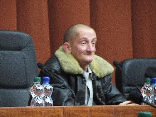 Александр Масюк в кресле председателя облсовета