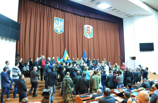 Друге засідання першоі сесії Полтавської облради 7-го скликання