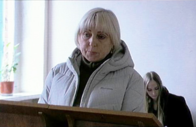 Медсестра Жанна Корнівська