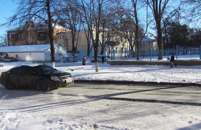 Відремонтована частина дороги на вул. Чорновола