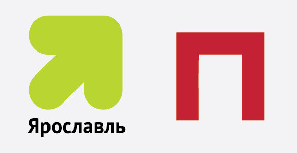 Логотипы Ярославля и Перми, разработанные в студии Артемия Лебедева