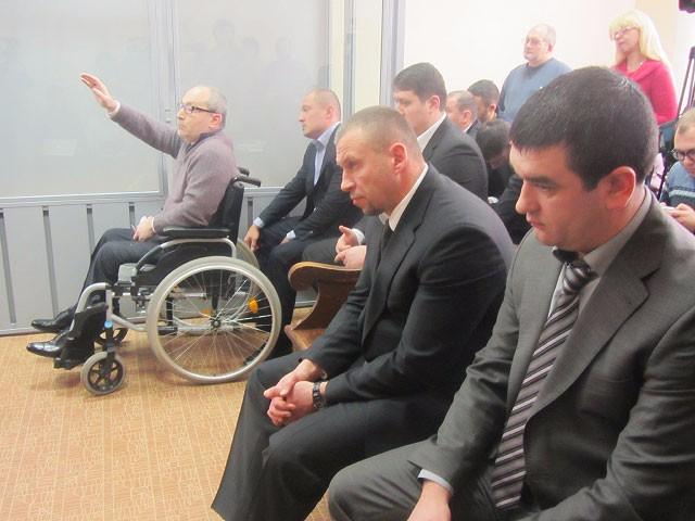 Обвиняемые: Геннадий Кернес и его охранники Смитский, Блинник