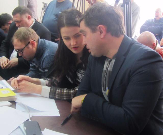 Потерпевший Ряполов, адвокат Зелькина, потерпевший Кутянин