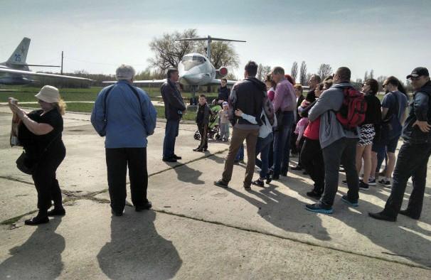 Екскурсія у Музеї авіації у Полтаві