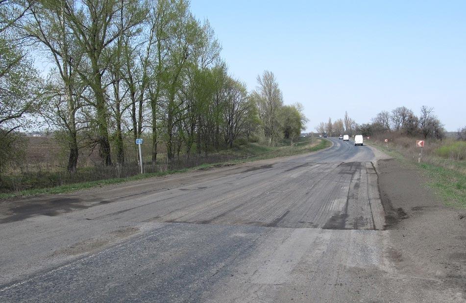 Ремонтні роботи на трасі М-22 Полтава — Олександрія