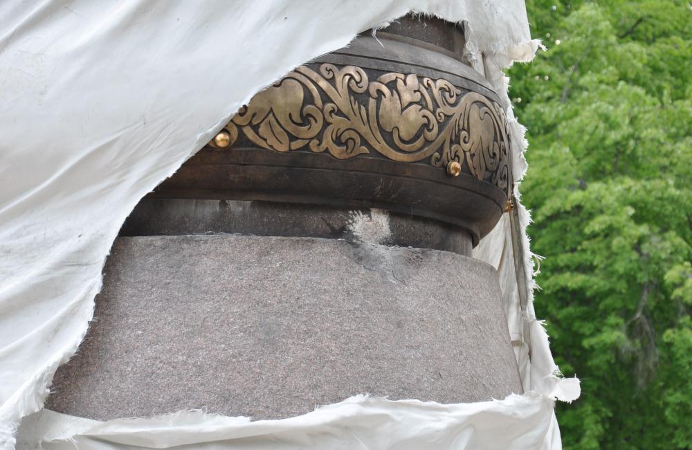 В Полтаве попытались взорвать памятник Ивану Мазепе