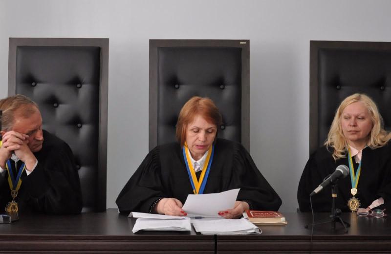 Судді Апеляційного суду Анатолій Кисіль, Наталія Голубенко та Лілія Денисенко