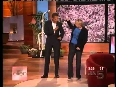 Barack Obama Dancing On Ellen Show - 2007 Classic