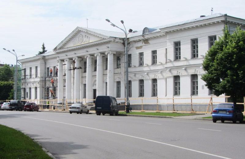 Ремонт будівлі «Малої академії мистецтв»