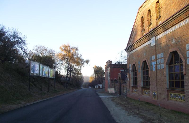Вулиця Василя Кричевського (Партизанська) у Опішні