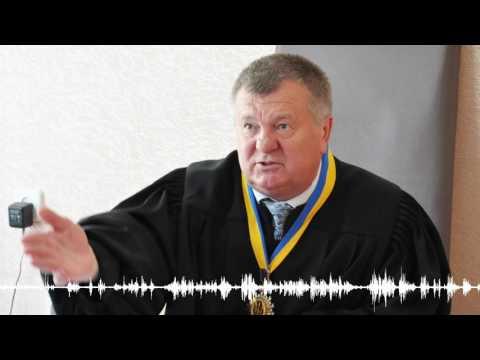 Запитання судді Олександра Струкова під час засідання у Октябрському райсуді Полтави (2016.06.10)