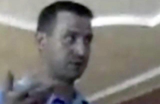 Людина, схожа на керівника Лохвицького районного осередку «Батьківщини» В'ячеслава Демчука