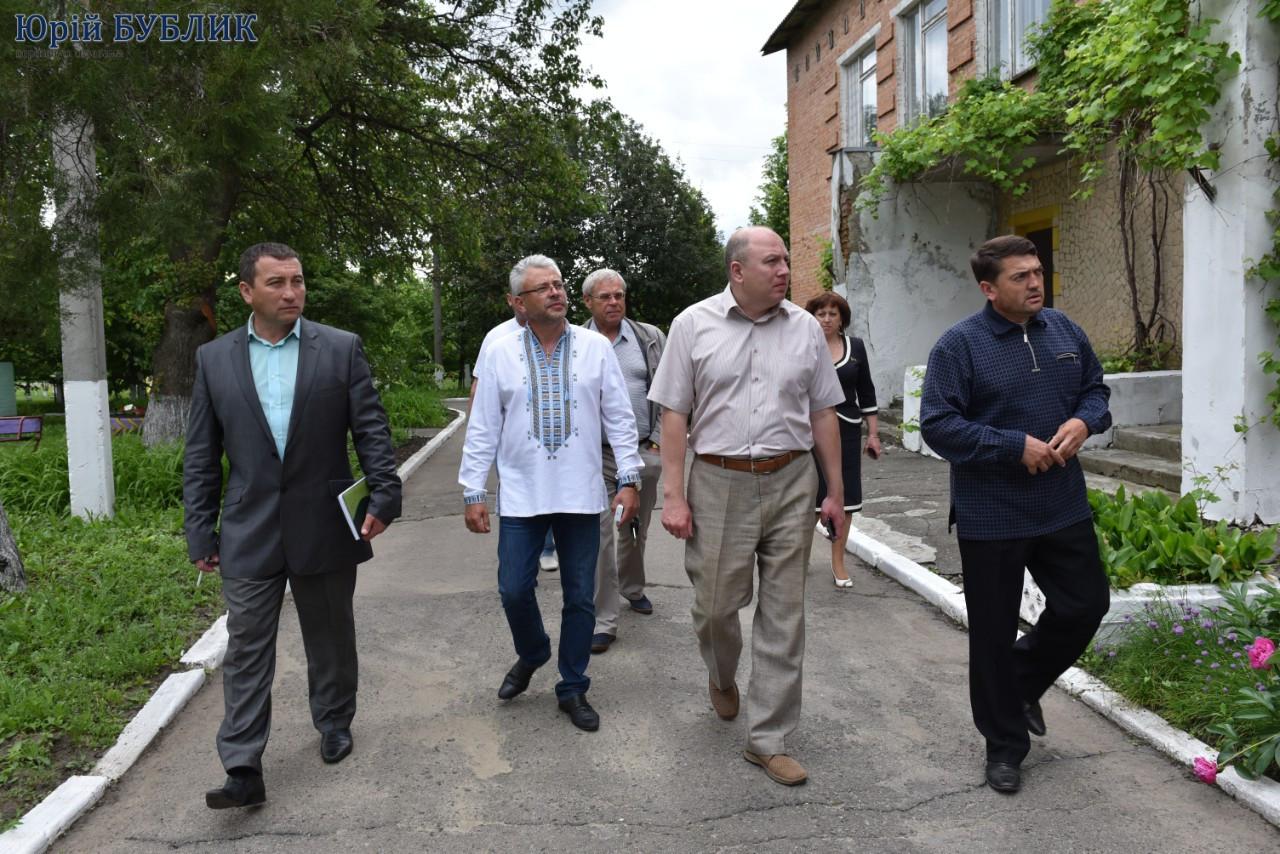 Відвідини Полтавського району