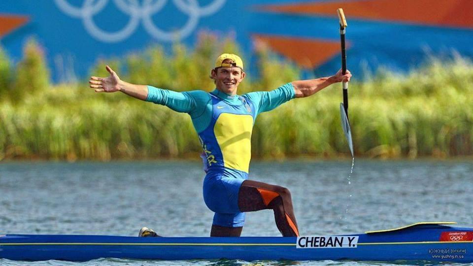 Юрій Чебан став олімпійським чемпіоном у веслуванні на каное