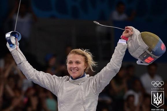 Олена Харлан — срібна і бронзова медалістк з фехтування