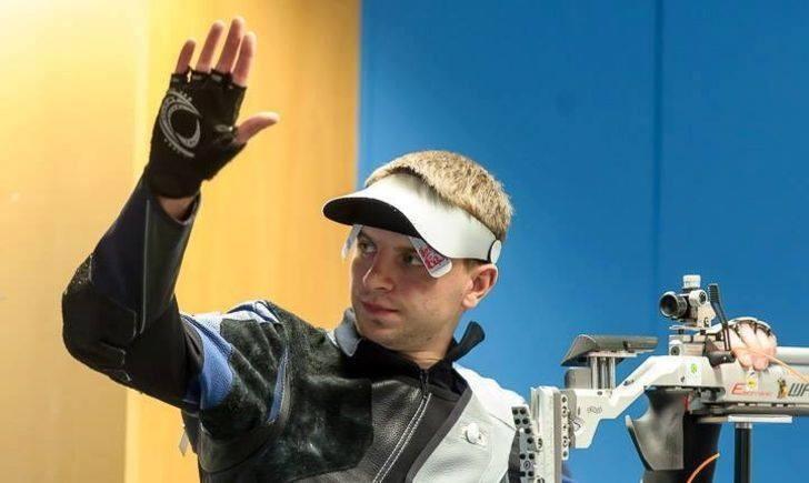 Сергій Куліш здобув срібну медаль у стрільбі з пневматичної гвинтівки на 10 метрів