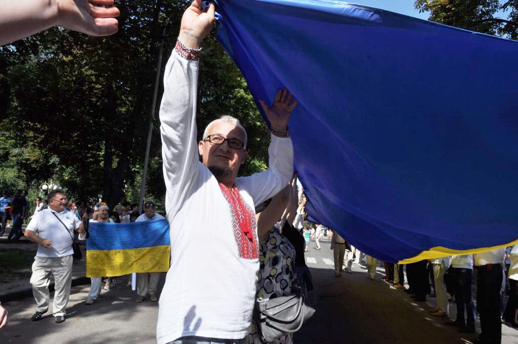 Валерій Довженко — керівник Центру допомоги учасникам АТО