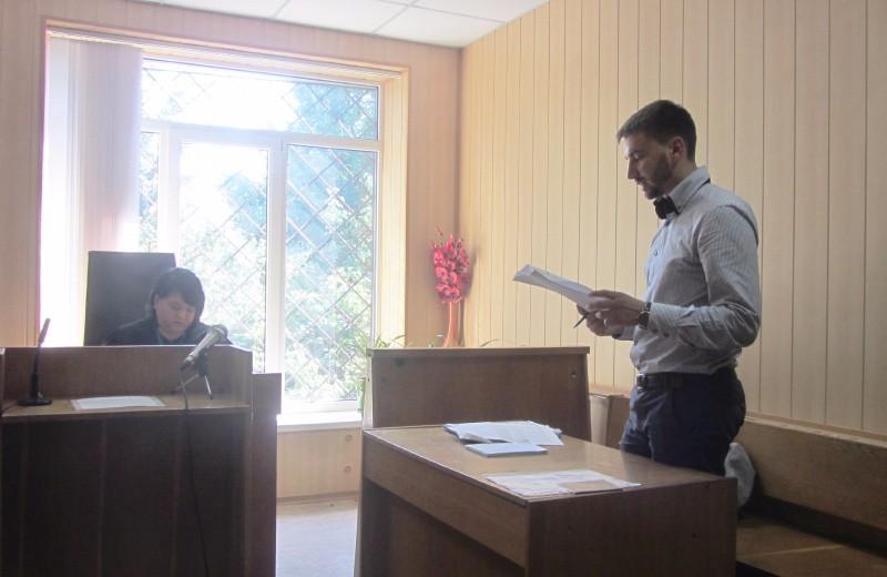 Юрист «Центру протидії корупції» Сергій Миткалик