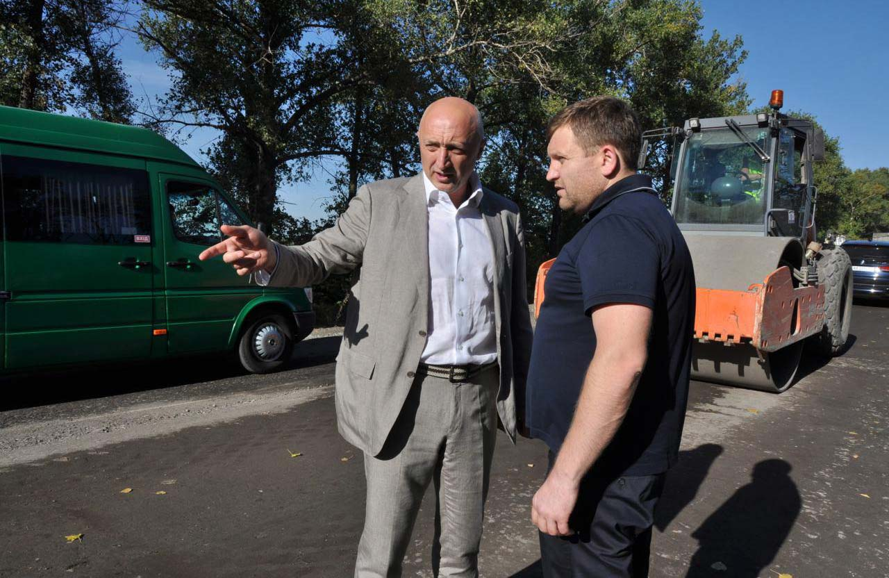 Валерій Головко та Володимир Трояновський