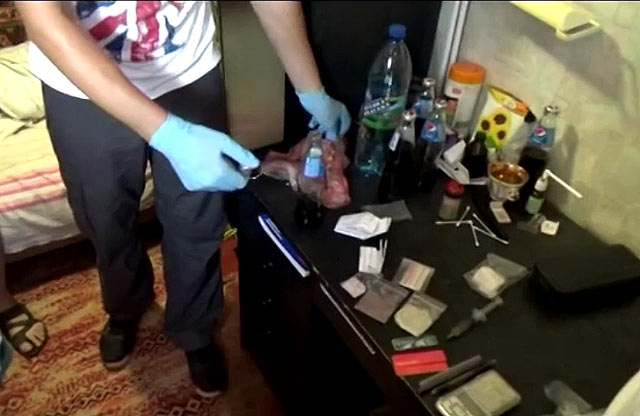 НаПолтавщине задержали наркоторговцев, зарабатывавших наамфетамине млн грн вмесяц
