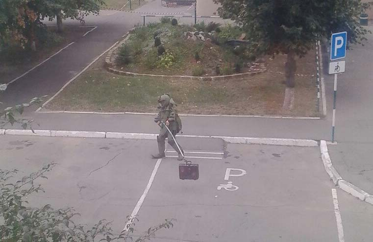 ИзПолтавской больницы эвакуировали персонал и гостей: найден подозрительный чемодан