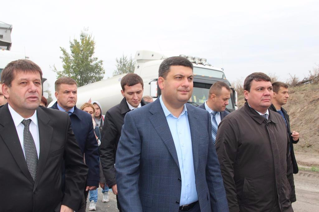 Володимир Гройсман та Андрій Пісоцький