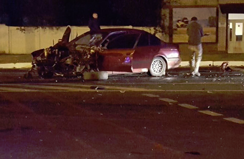 Мощное столкновение вПолтаве: вразбитых авто пострадали 5 человек