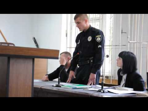 Суддя Олександр Струков vs поліція: свідчення Дмитра Штангея (2016.09.30)
