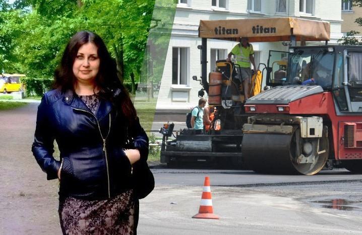 26-річна Альона Харченко проводить технагляд за капремонтами УЖКГ