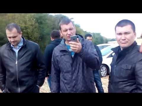 У Машівському районі фермер та депутат облради ведуть боротьбу за землю та врожай (2016.09.28)