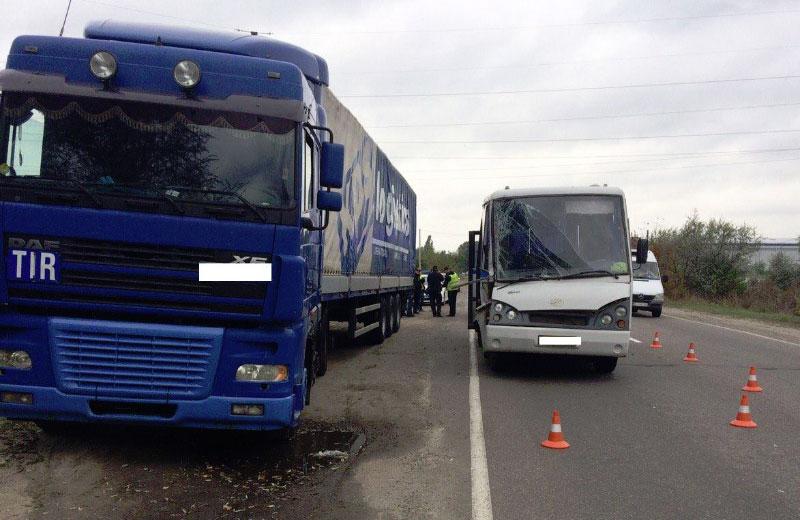 ВКременчуге в трагедию угодила маршрутка «Горишни Плавни— Кременчуг»: есть пострадавшие