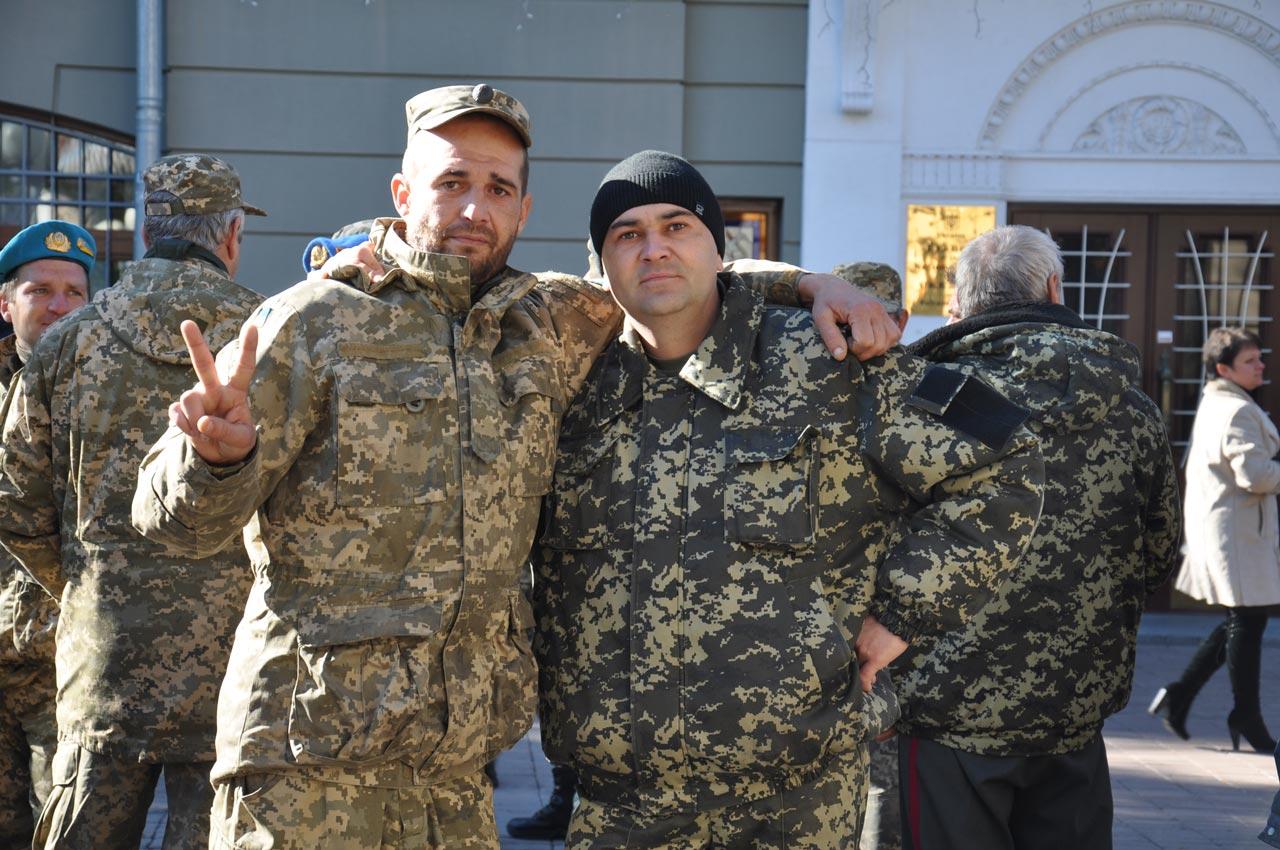 Сьогодні бійців святкують, а незабаром знову повернуться на Схід.