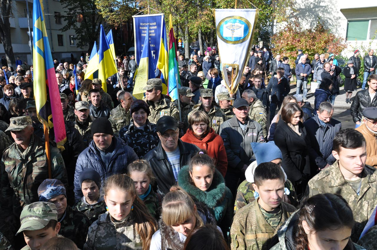 На марш прийшло близько 2 тисяч чоловік.