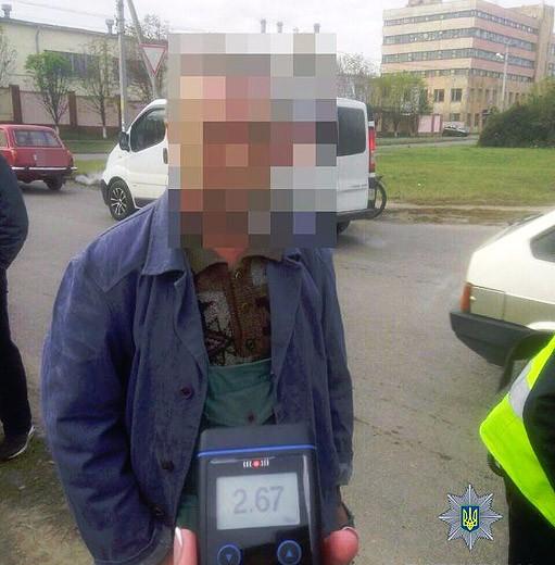 Наулице Героев АТО вПолтаве нетрезвый шофёр совершил ДТП