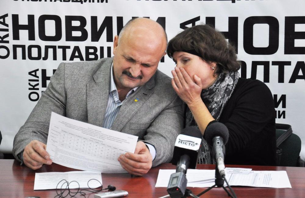 Петро Ворона та Юлія Петушинська