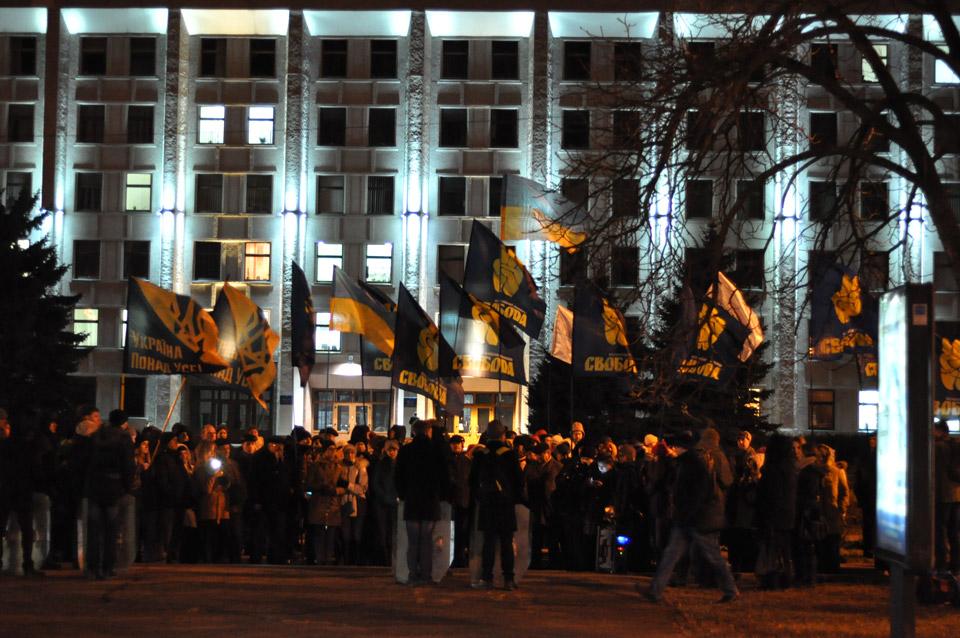 На Майдан прийшло близько 300 чоловік.