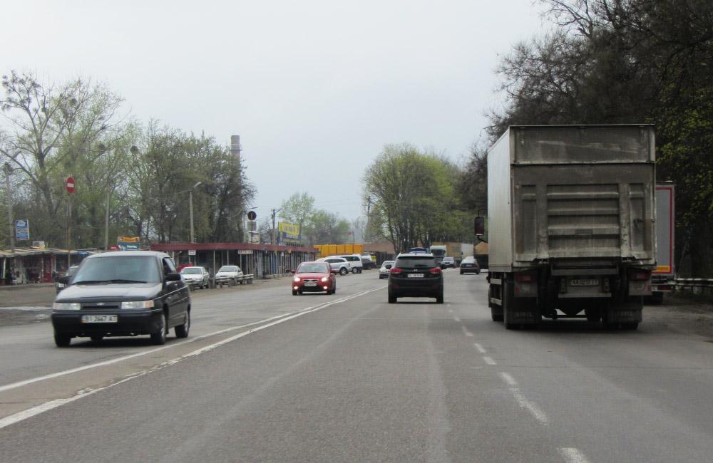 Дорога М03 Київ — Харків — Довжанський в межах Полтави