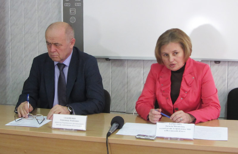 Олександр Сидоренко та Наталія Барболіна